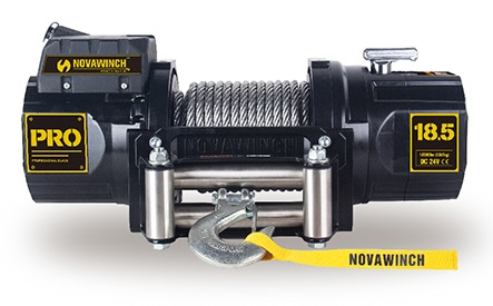 Novawinch electric 24v winch 18000lb